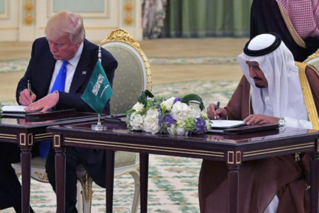 Trump'tan Suudi Arabistan'la 110 milyar dolarlık silah anlaşması