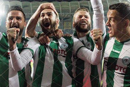 Türkiye Kupası'nda ilk finalist Atiker Konyaspor