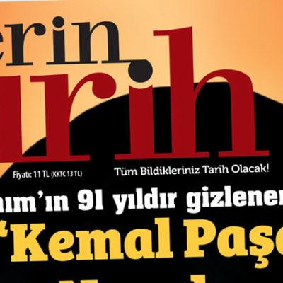 Derin Tarih'in Mayıs sayısı için toplatma kararı