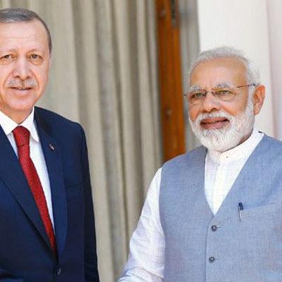 Hindistan'dan Erdoğan'a ret!