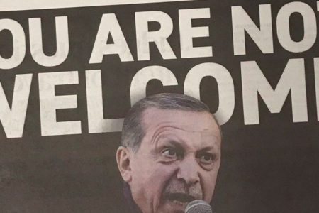 Human Rights Foundation Erdoğan'ı 'karşıladı': ABD'ye HOŞ GELMEDİN Erdoğan