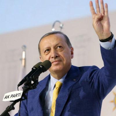 Erdoğan yeniden AK Parti genel başkanı seçildi