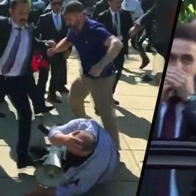 Protestoculara saldırı emrini Erdoğan'ın verdiğini gören ABD gizli servisi, Erdoğan'ı korumayı bırakmış