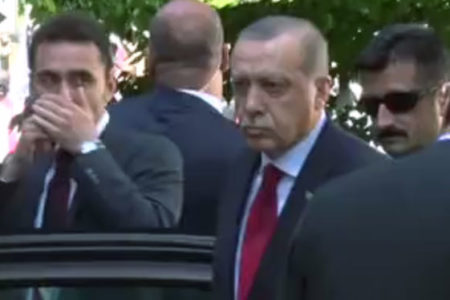 Erdoğan, Washington'daki protestoların bitmesini böyle bekledi