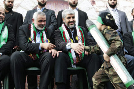Hamas'ın yeni lideri İsmail Haniyye oldu