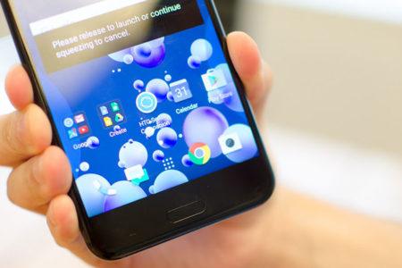 HTC'den 'sıkınca selfie çeken' telefon