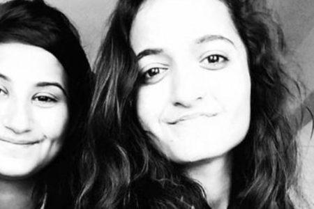 Lise öğrencisi iki kız el ele tutuşarak uçurumdan atladı