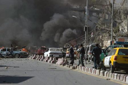 Kabil'de bombalı saldırı: 80 ölü, 300 yaralı