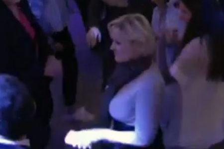 Marine Le Pen, yenilgi sonrası dans ederek stres attı