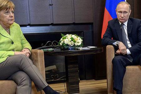 Merkel'in Rusya ziyaretinde soğuk rüzgarlar esti