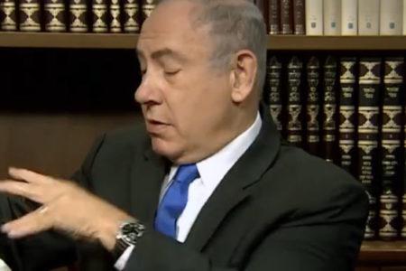 Netenyahu, Hamas'ın yeni siyaset belgesini çöpe attı