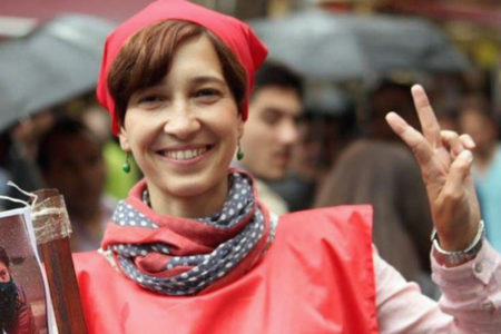 Açlık grevinin 64.gününde Nuriye Gülmen: Bu bir ekmek kavgası