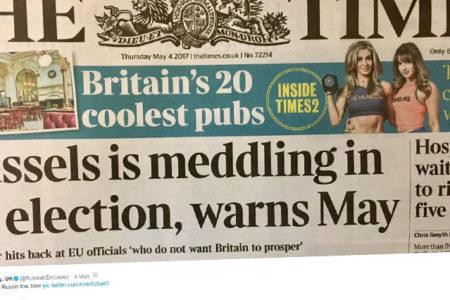 Rusya'nın İngiltere Büyükelçiliği Times'la dalga geçti