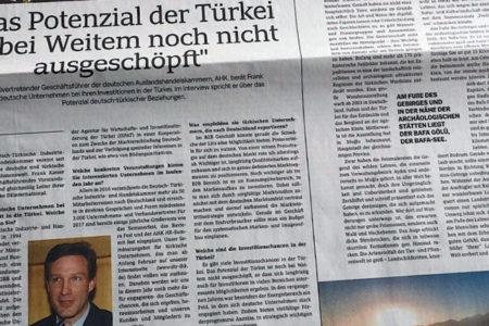 Türkiye'nin Alman gazetesine verdiği reklamın içeriği sahte çıktı