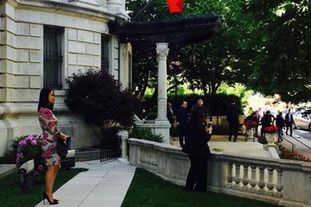 Erdoğan'ın ziyareti sırasında Zarrab'ın avukatı Büyükelçilik konutunda