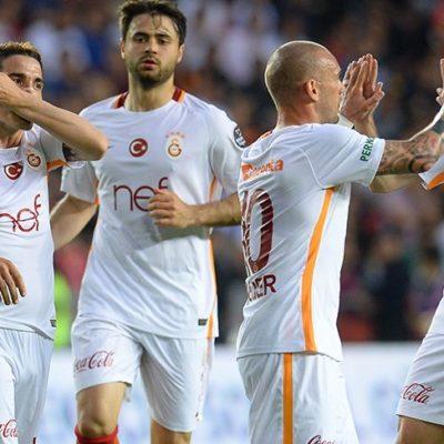 Galatasaray, Gaziantep'i ateşe attı: Gaziantepspor 1-2 Galatasaray