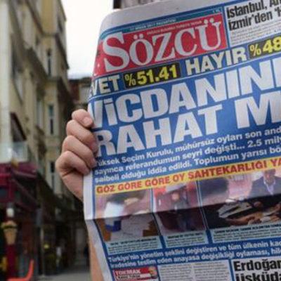Sözcü'ye operasyon: Gazetenin sahibi ve 3 yöneticisi hakkında gözaltı kararı