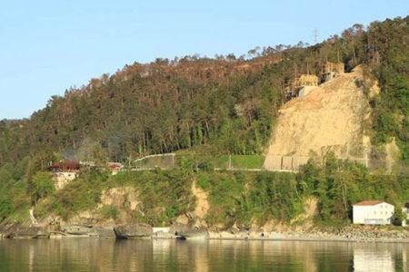 Sürmene'de yanan 20 hektarda villalar yükseliyor