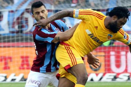 Kayserispor Karadeniz'den 3 puanla ayrıldı: Trabzonspor 2-3 Kayserispor