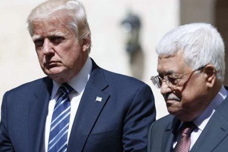 Trump Filistin'de: Eğer İsrail ve Filistin barış yapabilirse, tüm Ortadoğu'da barış süreci başlayacaktır