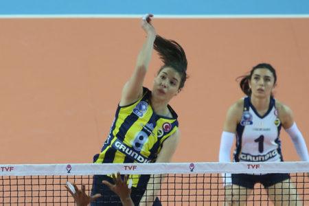 Fenerbahçe Kadın Voleybol Takımı şampiyon oldu