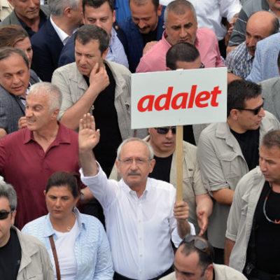 CHP'li belediyeler hakkında Adalet Yürüşü'ne destek verdikleri gerekçesiyle soruşturma başlatıldı