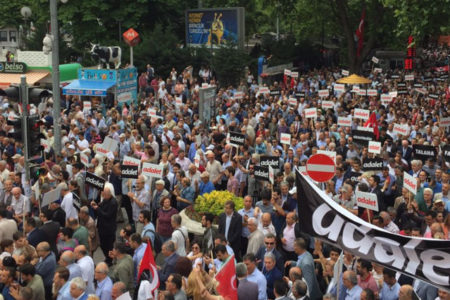 Gergerlioğlu: Kılıçdaroğlu'nun başlattığı yürüyüşe destek vermek CHP'ye destek vermek değildir