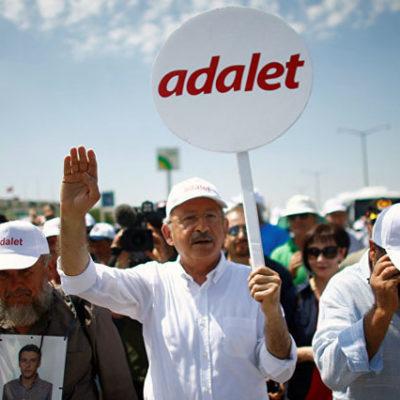 Adalet Bakanı Bozdağ'dan Adalet Yürüyüşü'ne katılanlara: Boşuna yoruluyorlar