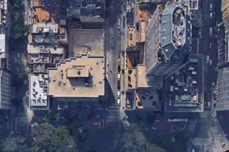 4 bin Google Earth fotoğrafından klip