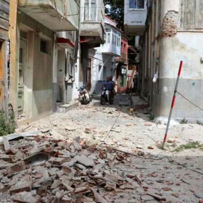Ege Denizi'nde 6.3 büyüklüğünde deprem: 1 ölü