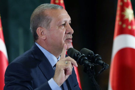 Erdoğan: Amerika'nın Hans'ıyla, George'uyla mı kendimi koruyacağım?