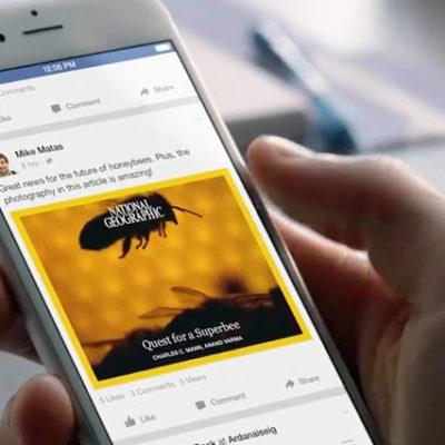 Facebook, 'Instant Videos' adını verdiği yeni özelliğini test etmeye başladı