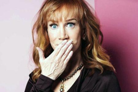 Komedyen Kathy Griffin: Başkanı eleştirdiğim için ölmek zorunda değilim