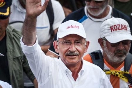 AK Parti'den 'Adalet Yürüyüşü' anketi