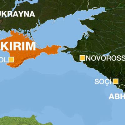 Kiev yönetiminden, Kırım'ı Rus toprağı gibi gösteren Daily Mail'e tepki
