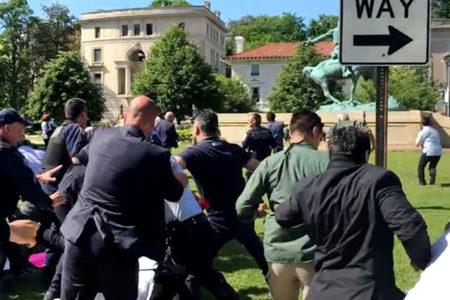 Washington'da kavgaya karışan Erdoğan'ın 15 korumasına dava kararı