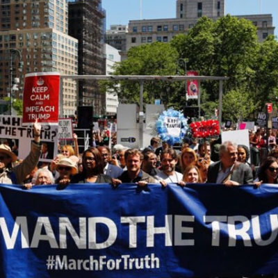 ABD'nin 135 şehrinde Trump protestosu: Hemen şimdi adalet istiyoruz