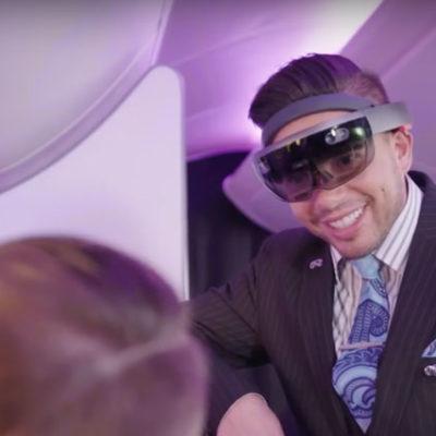 Yeni Zelanda Havayolları, yolcularına 'artırılmış gerçeklik' gözlüğü dağıtacak