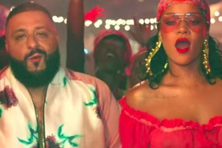 Rihanna, DJ Khaled'in son şarkısıyla müzik dünyasına döndü