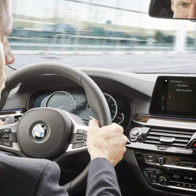 BMW kullanıcıları araçlarından ayrılmadan Skype toplantısı yapabilecek