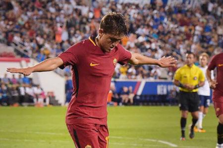 Cengiz Ünder Roma formasıyla çıktığı ilk maçta golünü attı