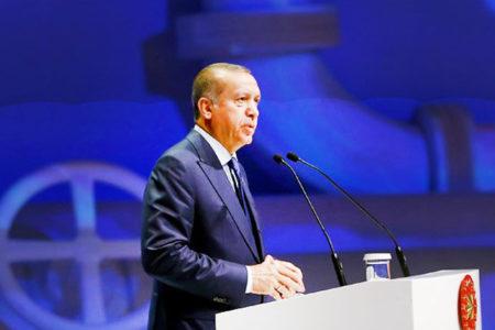 Erdoğan, 15 Temmuz'un yıldönümünde Guardin'a yazdı: Mücadelemizde adalete bağlı kalmaya devam ediyoruz.