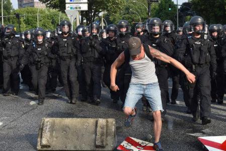 G-20 protestolarına şiddet karıştı: 265 kişi gözaltına alındı