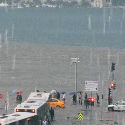 İstanbul sular altında