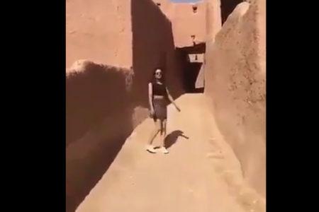 Twitter'dan mini etekli videosunu paylaşan Suudi kadın serbest bırakıldı