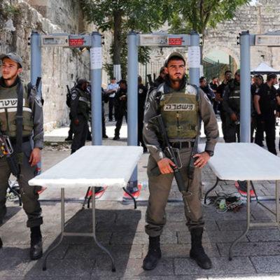İsrailli Bakan: Dedektörler kalacak, isteyen girmesin