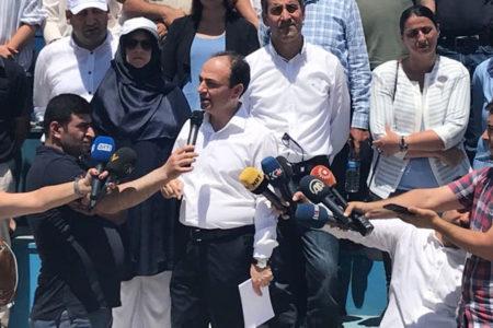 """Baydemir: """"Adalet ve Vicdan Nöbeti'ni İstanbul'a devredeceğiz"""""""