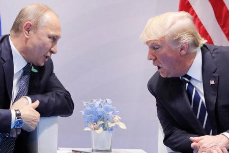 Trump: Putin'i iki kez sıkıştırdım