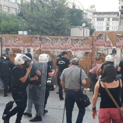 Suruç anmasına polis müdahalesi: Çok sayıda kişi gözaltına alındı