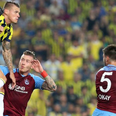 Sezonun ilk derbisinde kazanan çıkmadı: Fenerbahçe 2-2 Trabzonspor